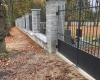 Opravená zeď